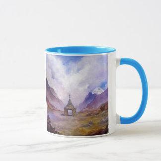 Stupa Mt Kailash Tibet Mug