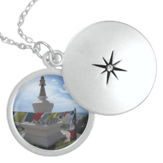 Stupa Necklace Locket