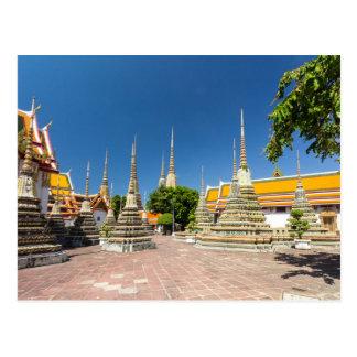 Stupas, Wat Pho, Bangkok, Thailand Postcard
