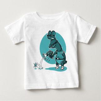 stupid alien shoot single electron cartoon baby T-Shirt