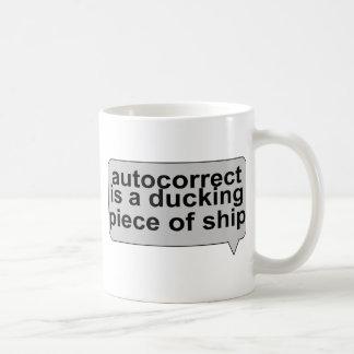Stupid Autocorrect Coffee Mug