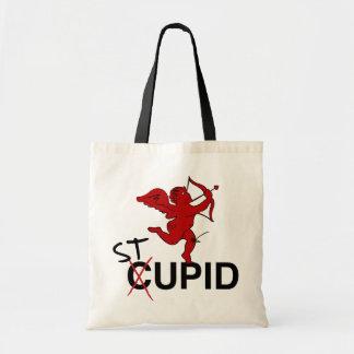 Stupid Cupid Tote Bags