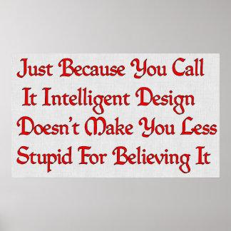 Stupid Design) Poster