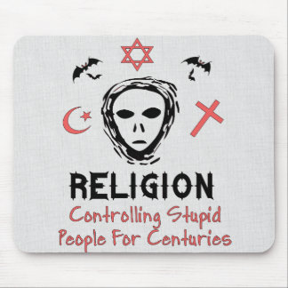 Stupid People Control Mouse Pad