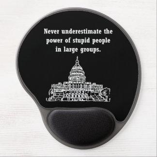 Stupid Politicians Gel Mouse Pad
