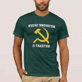 Stupid Slogan Hammer and Sickle T Shirt