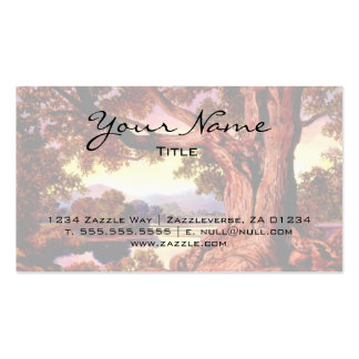 Sturdy Oak Pack Of Standard Business Cards