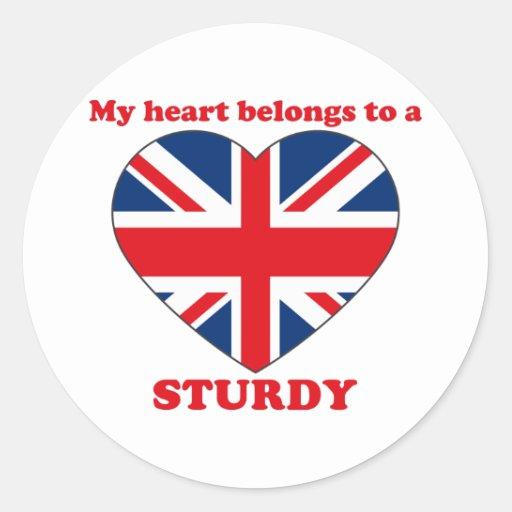 Sturdy Round Stickers