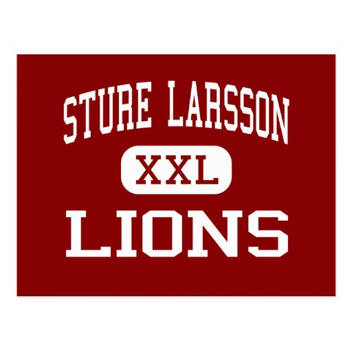 Sture Larsson - Lions - High - Stockton California Post Card
