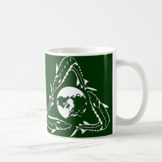 Sturgeon Mug - Recycle white