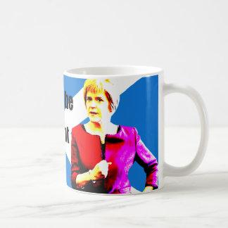 Sturgeon: Scotland will be an independent country… Basic White Mug