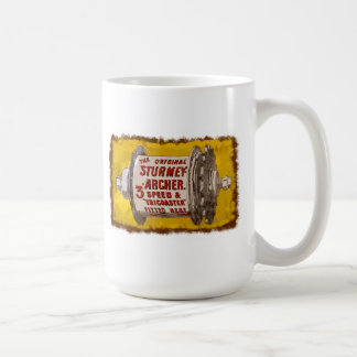Sturmey Archer Vintage 3 speed Bicycle Hubs Coffee Mug