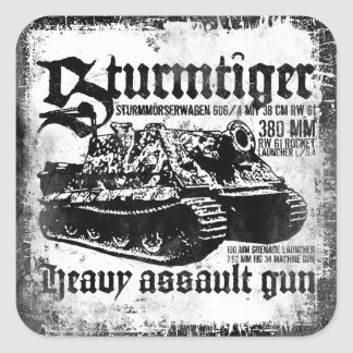 Sturmtiger Square Sticker