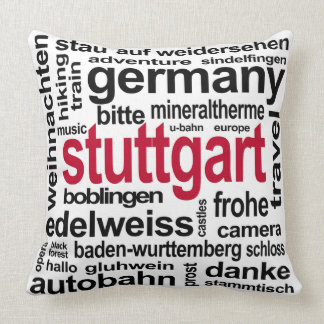 Stuttgart accent pillow
