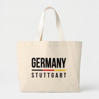 Stuttgart Germany Large Tote Bag