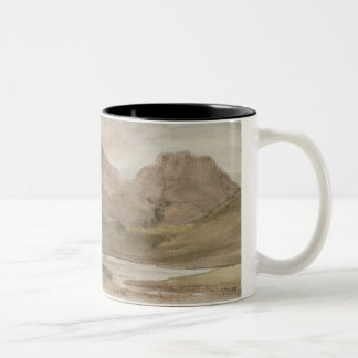 Sty Head Tarn, 12th October 1800 Two-Tone Coffee Mug