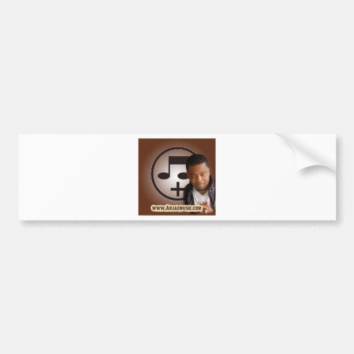 Style 4 Design  Arjae Matthews Collection Bumper Stickers