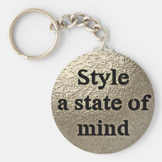 Style a state or mind - key-ring key ring