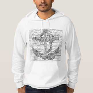 Style Anchor And Rope Hoodie