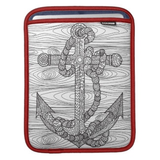 Style Anchor And Rope iPad Sleeve
