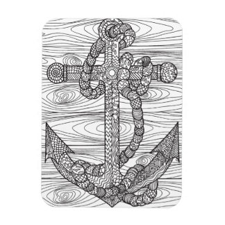 Style Anchor And Rope Magnet