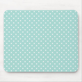 """""""Style"""" Aqua/White Dots Mouse Pad"""
