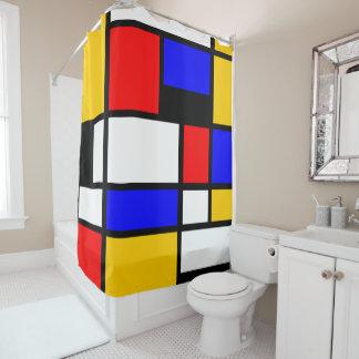Style Art Mondrian Shower Curtain