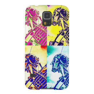 Style Art Skeleton Case For Galaxy S5