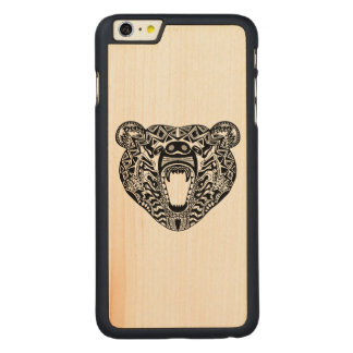 Style Bear Carved® Maple iPhone 6 Plus Case