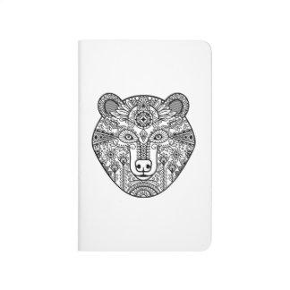 Style Bear Head Journal