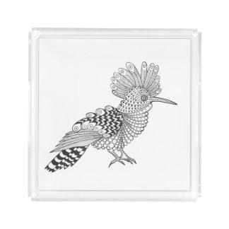 Style Bird Acrylic Tray