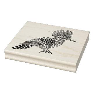 Style Bird Rubber Stamp