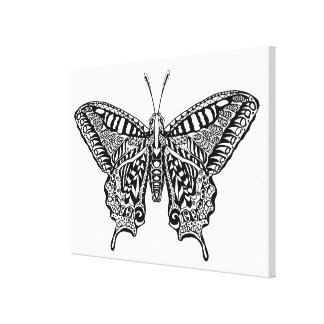 Style Butterfly 16 Canvas Print