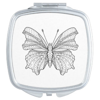 Style Butterfly 3 Mirror For Makeup