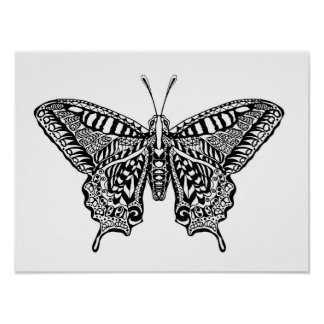 Style Butterfly 4 Poster