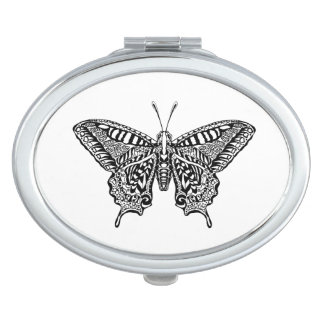 Style Butterfly Makeup Mirror