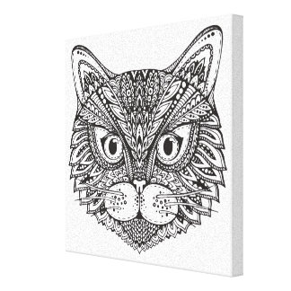 Style Cat 11 Canvas Print