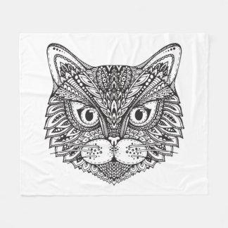 Style Cat Fleece Blanket