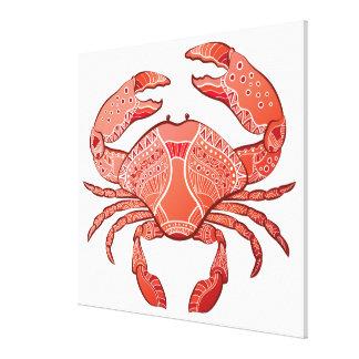 Style Crab Canvas Prints