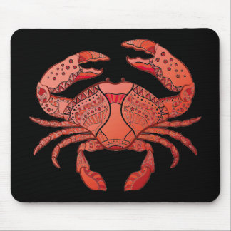 Style Crab Mouse Pad