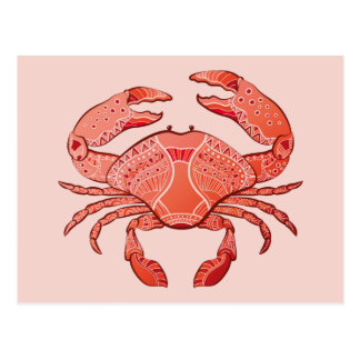Style Crab Postcard