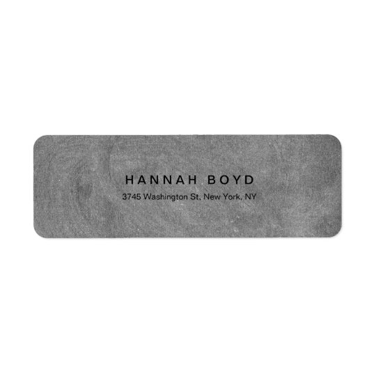 Style Creative Grey Chalkboard Modern Professional