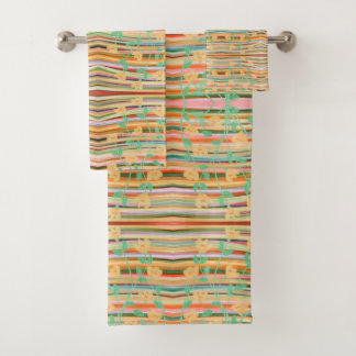 Style Designed Colourful Towel Set