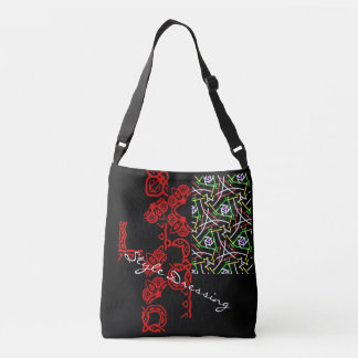 Style dressing pattern crossbody bag