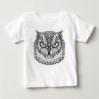 Style Eagle Owl Head Baby T-Shirt