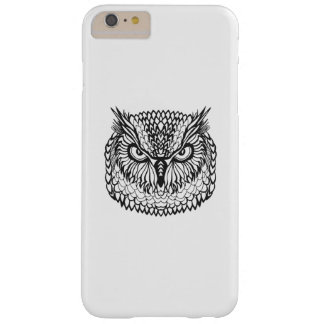 Style Eagle Owl Head Barely There iPhone 6 Plus Case
