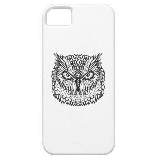 Style Eagle Owl Head iPhone 5 Case