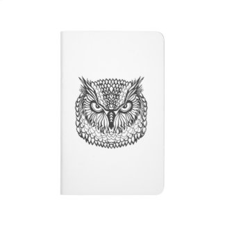 Style Eagle Owl Head Journal