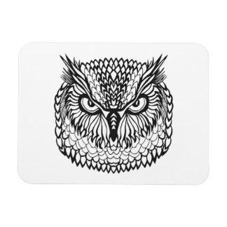 Style Eagle Owl Head Magnet