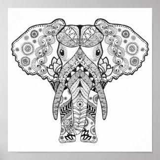 Style Elephant 2 Poster